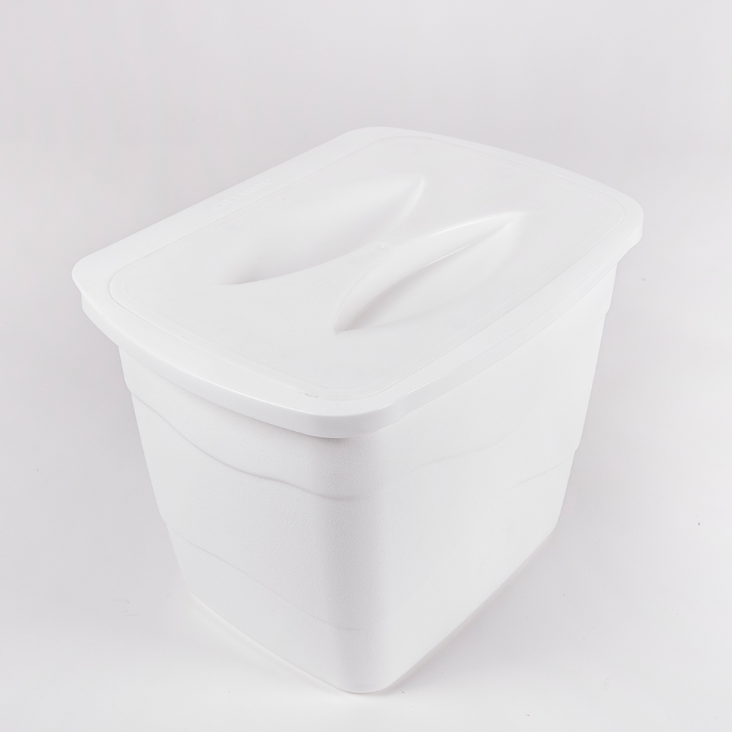DecoBella Practical Trash Box With Cover