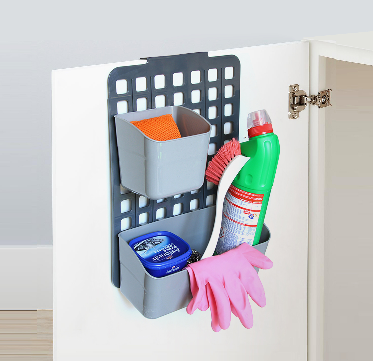 Adjustable Organizer Basket - 1 Large + 1 Small